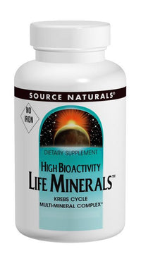 Buy Source Naturals, Life Minerals™ Iron-Free Multi Mineral Complex, 60 tablet at Herbal Bless Supplement Store