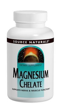 Buy Source Naturals, Magnesium Chelate 100mg elemental, 100 tablet at Herbal Bless Supplement Store