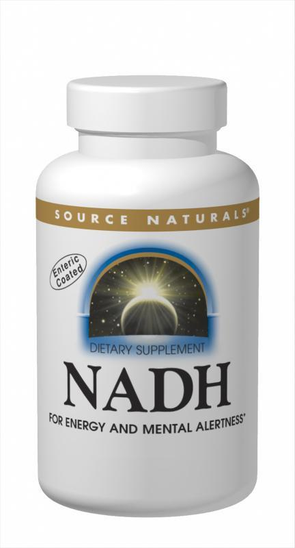 Buy Source Naturals, NADH Blister Pack, 10 Peppermint Biolingual Lozenges at Herbal Bless Supplement Store