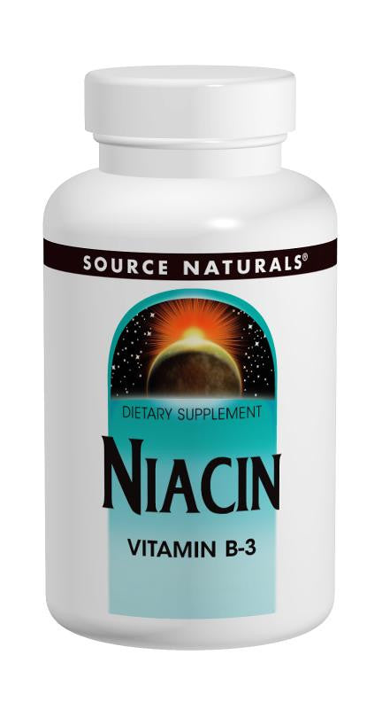 Buy Source Naturals, Niacin Vitamin B-3 100mg, 100 tablet at Herbal Bless Supplement Store