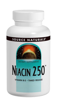 Buy Source Naturals, Niacin Vitamin B-3 250mg Time Release, 100 tablet at Herbal Bless Supplement Store