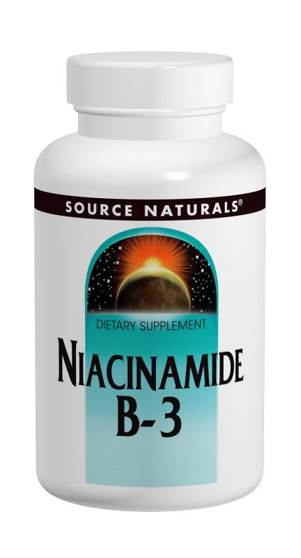 Buy Source Naturals, Niacinamide Vitamin B-3 1500mg, 50 Time Release Tablets at Herbal Bless Supplement Store