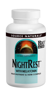 Buy Source Naturals, NightRest™ with Melatonin Bio-Aligned™, 50 tablet at Herbal Bless Supplement Store