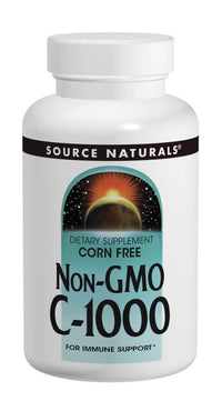 Buy Source Naturals, Non-GMO C-1000, Corn Free 1000 mg, 60 tablet at Herbal Bless Supplement Store