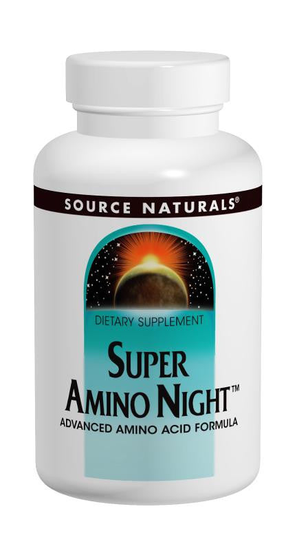 Buy Source Naturals, Super Amino Night™, 60 capsule at Herbal Bless Supplement Store