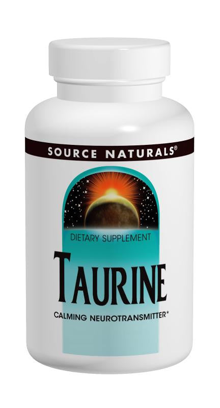 Buy Source Naturals, Taurine Powder, 100 gm at Herbal Bless Supplement Store