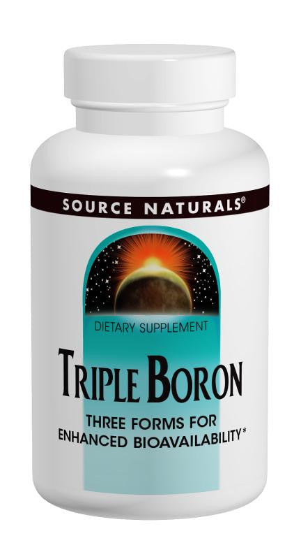 Buy Source Naturals, Triple Boron, 100 capsule at Herbal Bless Supplement Store