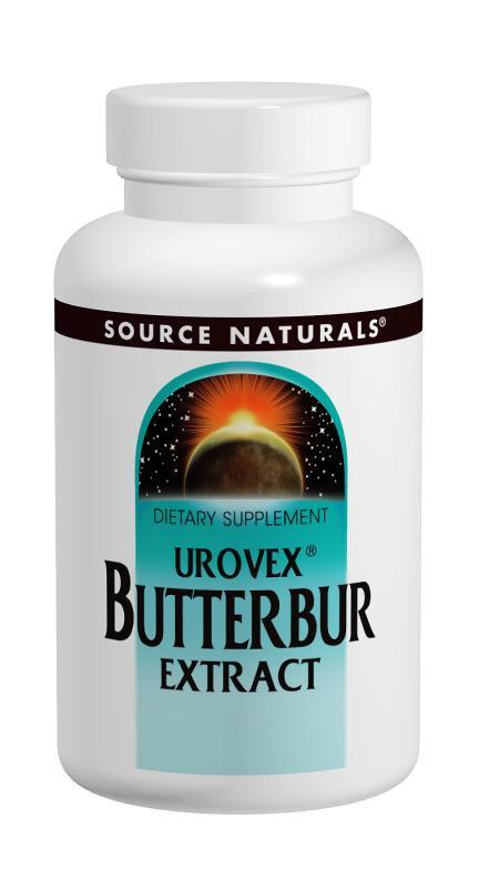 Buy Source Naturals, Urovex® Bladder Health - Butterbur Extract 50mg, 12 Softgels at Herbal Bless Supplement Store