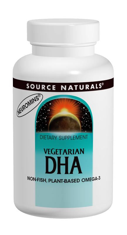 Buy Source Naturals, Vegetarian DHA 200mg, 30 softgel at Herbal Bless Supplement Store