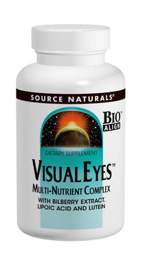 Buy Source Naturals, Visual Eyes™ with Bilberry & Lutein Bio-Aligned™, 30 tablet at Herbal Bless Supplement Store
