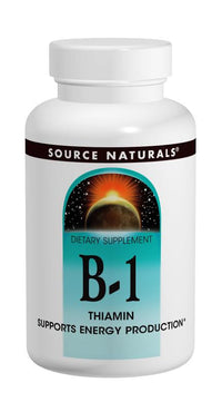Buy Source Naturals, Vitamin B-1 100mg Thiamin, 100 tablet at Herbal Bless Supplement Store