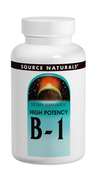 Buy Source Naturals, Vitamin B-1, High Potency, 50 tablet at Herbal Bless Supplement Store
