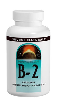 Buy Source Naturals, Vitamin B-2 Riboflavin 100mg, 100 tablet at Herbal Bless Supplement Store