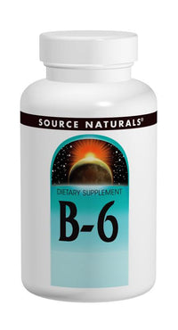 Buy Source Naturals, Vitamin B-6 Pyridoxine 100mg, 250 tablet at Herbal Bless Supplement Store