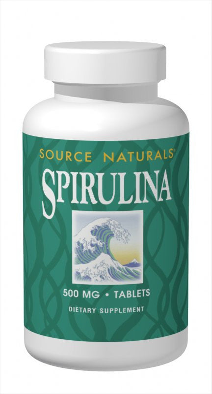 Buy Spirulina 500mg, 100 tablet at Herbal Bless Supplement Store