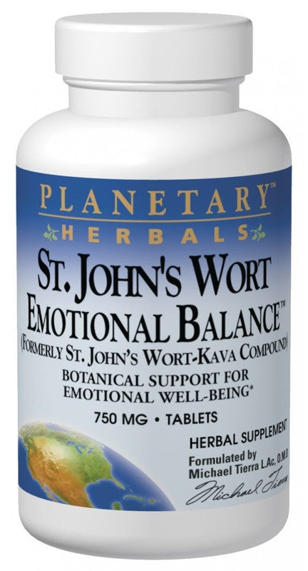 Buy St. John's Wort Emotional Balance™, 30 tablet at Herbal Bless Supplement Store