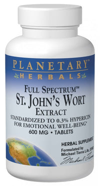 Buy St. John's Wort Extract 600mg - Std 0.3% Hypericin, 60 tablet at Herbal Bless Supplement Store