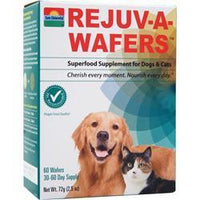 Buy Sun Chlorella, Rejuv-a-wafers - Superfood Supplement for Dogs & Cats, 60 wafrs at Herbal Bless Supplement Store