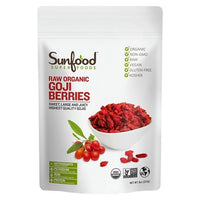 Buy Sunfood, Superfoods Raw Organic Goji Berries - 8 oz at Herbal Bless Supplement Store