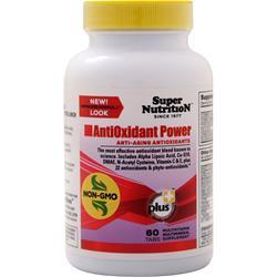 Buy Super Nutrition, AntiOxidant Power, 60 tabs at Herbal Bless Supplement Store
