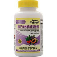 Buy Super Nutrition, PreNatal Blend, 180 tabs at Herbal Bless Supplement Store