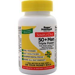 Buy Super Nutrition, Simply One 50+ Men - High Energy One-Per-Day at Herbal Bless Supplement Store