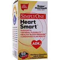 Buy Super Nutrition, Simply One - Heart Smart, wild Berry 60 tabs at Herbal Bless Supplement Store