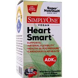 Buy Super Nutrition, Simply One - Vegan Heart Smart, Wild Berry 60 tabs at Herbal Bless Supplement Store