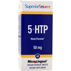 Buy Superior Source, 5-HTP Mood Elevator (50mg), 60 tabs at Herbal Bless Supplement Store