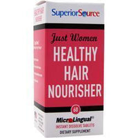 Buy Superior Source, Just Women - Healthy Hair Nourisher, 60 tabs at Herbal Bless Supplement Store
