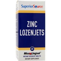 Buy Superior Source, Zinc Lozenjets, 60 tabs at Herbal Bless Supplement Store