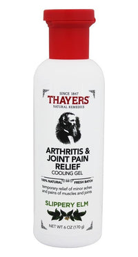 Buy Thayers, Arthritis & Joint Pain Relief Cooling Gel, 6 oz at Herbal Bless Supplement Store