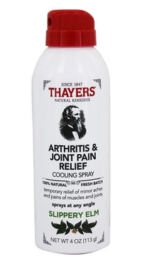 Buy Thayers, Arthritis & Joint Pain Relief Cooling Spray, 4 oz at Herbal Bless Supplement Store