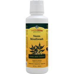 Buy Theraneem Organix, Neem Mouthwash, Herbal Mint Therape 16 fl.oz at Herbal Bless Supplement Store