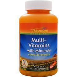 Buy Thompson, Multi-Vitamins with Minerals, 120 tabs at Herbal Bless Supplement Store
