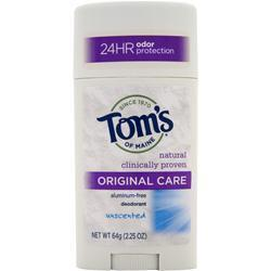 Buy Tom's Of Maine, Deodorant Stick Original Care, Unscented 2.25 oz at Herbal Bless Supplement Store
