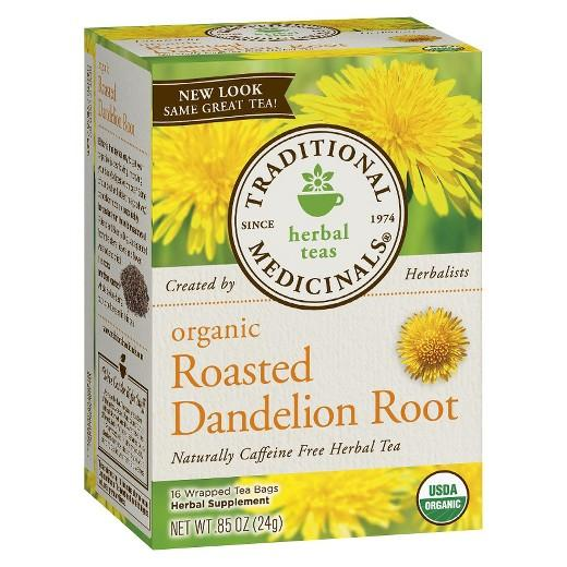 Buy Traditional Medicinals, Organic Dandelion Herbal Tea 16 ct at Herbal Bless Supplement Store