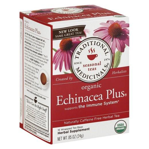 Buy Traditional Medicinals, Organic Echinacea Plus Herbal Tea 16 ct at Herbal Bless Supplement Store
