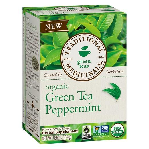 Buy Traditional Medicinals, Organic Green Tea Peppermint .85oz at Herbal Bless Supplement Store