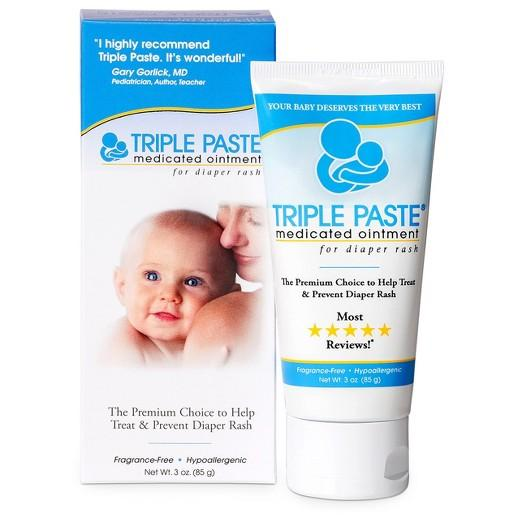 Buy Triple Paste, Diaper Rash Ointment - 3oz at Herbal Bless Supplement Store