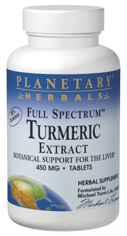 Buy Turmeric Extract 450mg - Std 95% Curcumin, Tablets at Herbal Bless Supplement Store