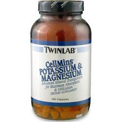 Buy TwinLab, Cellmins - Potassium & Magnesium, 180 caps at Herbal Bless Supplement Store