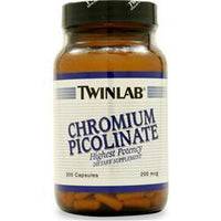 Buy TwinLab, Chromium Picolinate (200mcg), 200 caps at Herbal Bless Supplement Store