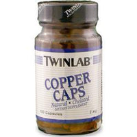 Buy TwinLab Copper (2mg), 100 caps at Herbal Bless Supplement Store