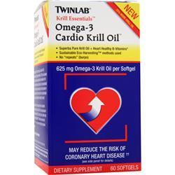 Buy TwinLab, Krill Essentials: Cardio Krill Oil, 60 sgels at Herbal Bless Supplement Store
