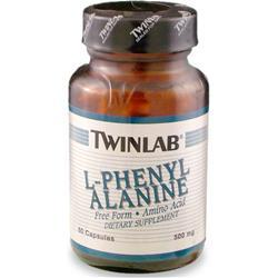 Buy TwinLab, L-Phenylalanine (500mg), 60 caps at Herbal Bless Supplement Store