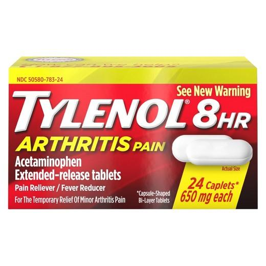 Buy Tylenol, Arthritis Pain Relief Caplets - 24ct at Herbal Bless Supplement Store