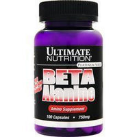 Buy Ultimate Nutrition, Beta Alanine (750mg), 100 caps at Herbal Bless Supplement Store
