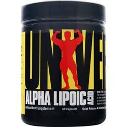 Buy Universal Nutrition, Alpha Lipoic Acid (100mg), 60 caps at Herbal Bless Supplement Store