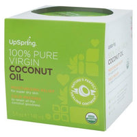 Buy UpSpring Organic Coconut Oil - 5oz at Herbal Bless Supplement Store